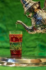 Tunisian tea (e L L en) Tags: verde green water gua silver tea tunisia copo bebida d800  prata ch   tunsia