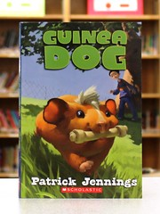 Guinea Dog (Vernon Barford School Library) Tags: new family school fiction pet pets reading book guineapig high library libraries guineapigs reads patrick books read paperback cover junior novel covers bookcover schools pick middle behavior vernon quick recent picks bookcovers paperbacks jennings behaviors novels fictional behaviour familylife barford softcover behaviours quickpicks quickpick vernonbarford softcovers 9780545285278