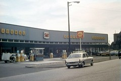 East Dock Street (Dundee City Archives) Tags: old dundee photos 1960s modern car dealership garage east dock street cars smt vauxhall shell petrol filling station austin bedford buildings architecture