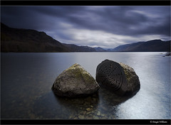 Centenary Stone - Derwent Water (Explored 20th April 2014) (Dougie Williams) Tags: longexposure blue lake landscape williams derwent lakes lakedistrict explore lee 5d derwentwater keswick 1740mm dougie longexposures explored 5dmkii bigstopper nd10stop leebigstopper landscapephotographymagazine dougiewilliams