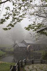 Mabry Mill (myphotohobby) Tags: mill fog virginia blueridgeparkway mabrymill