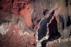stone vagina (tommmm) Tags: newzealand lava tongariro lavatube redcrater