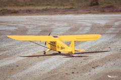 Piper J-3 Cub -27- (dominiquekt) Tags: radio nikon tunisia dom tunis sigma spitfire dominique piper rc enit khaled ulm aero avion spartan aircrafts planeur soliman c27j sliman d5200 touel felleli mezri