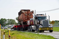 Oversized Load (ramseybuckeye) Tags: life road county ohio art wire highway allen lima pentax load dixie oversize breese lifters