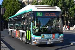 RATP Paris 9973 DA-058-JM (Will Swain) Tags: city travel paris france bus buses st french europe centre capital transport july des 10th transports michel notre dame seen ratp 2015 parisiens rgie autonome 9973 da058jm