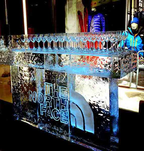 Ice Bar with Logo