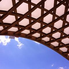Metz @PompidouMetz Pause djeuner (melina1965) Tags: wood roof sky cloud clouds square july ciel squareformat nuage nuages toit lorraine juillet metz bois moselle toits 2015 iphoneography instagramapp uploaded:by=instagram foursquare:venue=4bebcde7b3352d7fe4d956d2