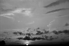 Retro 365 - Day #179 (cazphoto.co.uk) Tags: sunset film monochrome clouds 35mm mono rangefinder 35mmfilm apx100 vintagecamera braun agfa 35mmrangefinder filmproject prontorsvs galleywoodcommon paxetteiim retro365 pointikar45mmf28 280615