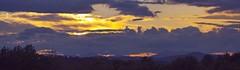 2015_0723Cloudy-Mountain-Sunset0003 (maineman152 (Lou)) Tags: sunset summer sky panorama sun nature skyscape landscape maine july cloudysky naturephotography landscapephotography naturephoto skycolor skycolors skydrama
