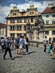 Praha Karlovy most (pineider) Tags: bridge czech boobs praha topless karl karlovymost europaeurope
