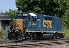 CSXT GP38-2 2624 (Erie Limited) Tags: cr csx conrail emd gp382 caso hillsidenj lehighline oi10 croi10