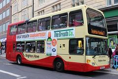 Brighton & Hove: 651 YN05GZL Scania N94UD/East Lancs OmniDekka (emdjt42) Tags: brighton scania brightonhove 651 eastlancs yn05gzl