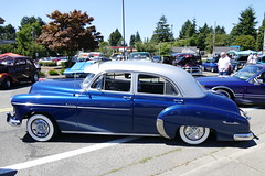 1949 Chevrolet Deluxe (bballchico) Tags: 1949 chevrolet deluxe royalimagecc bomb lowrider 206 washingtonstate patrons car club seattle