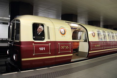 101 Glasgow Subway, Partick (Paul Emma) Tags: uk scotland glasgow railway railroad train glasgowsubway underground