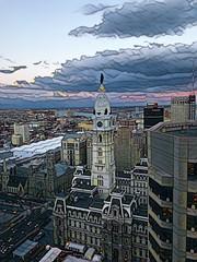 Philly City Hall (AndyS03) Tags: philadelphia philly city cityhall primsa filter dusk