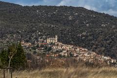 © patrickrancoule-1175 (Patrick RANCOULE) Tags: eus france arbre montagne village église