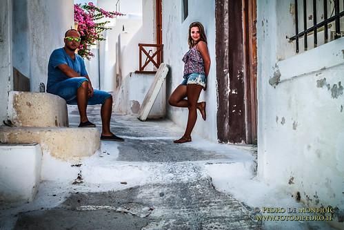 Santorini - Emporeio old town