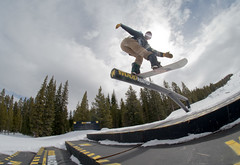 Front blunt (AWDPWNZ) Tags: snow snowboard snowboarding snowboarder bored riding friends copper woodward slide nightmare