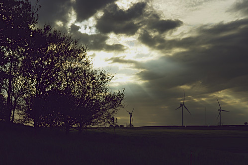 Wind Turbines and Sunlight