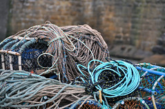 Rope you in (quintinsmith_ip) Tags: seaside fishing harbour yorkshire rope pot lobster staithes creel cowbarlane