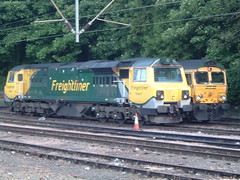 Hi the name is Herald........Railway Herald. (APB Photography) Tags: ipswich freightliner 70007 class70 railwayherald