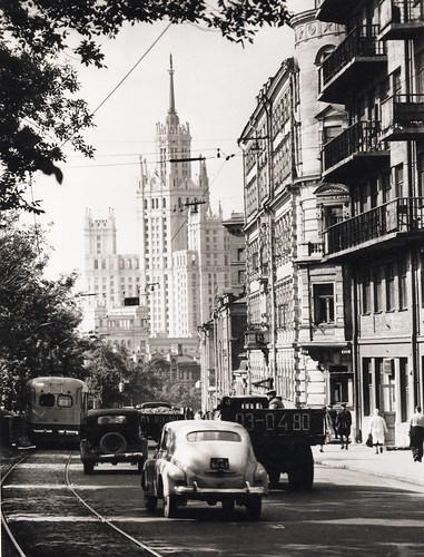 075 Бульвары Москвы 1950-е