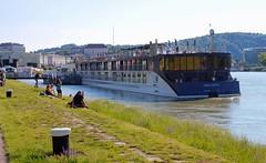 Linzfest 2013 -Tag 1 (austrianpsycho) Tags: river linz wiese ufer fluss danube donau 2013 linzfest donaulände amacerto 18052013 linzfest2013