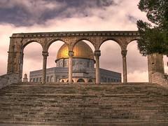 Colonnade est (MUQADDASI) Tags: old city architecture muslim islam jerusalem mosque arabic quarter islamic palestinian   aqsa quds   silwan                qouds  palestine