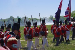 10th RVB at Battle of Fort George (jmaxtours) Tags: red ontario water battle muskets redcoats niagaraonthelake warof1812 rvb 1812 shanko niagaraonthelakeontario battleoffortgeorge stovepipeshako 10throyalveteranbattalion 10thrvb 10rvb