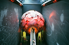 earth (f x d b b b t) Tags: uk greatbritain travel london film museum 35mm kodak contax portra t2 contaxt2 2013
