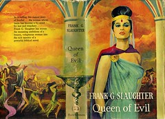 Queen of Evil (54mge) Tags: book novel jezebel hutchinson dustjacket ahab dustwrapper eileenwalton