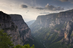 Vikos Gorge (ChrisBrn) Tags: mountains river europe canyon greece gorge chasm