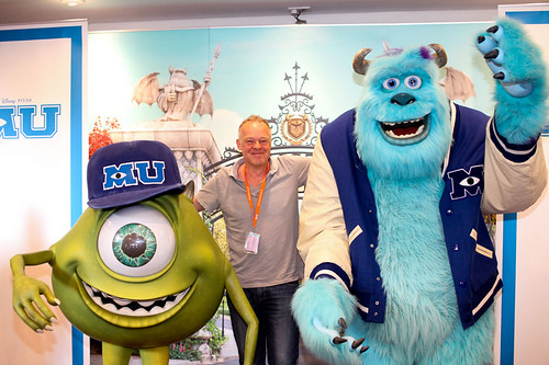Monsters University photocall at the Festival Theatre