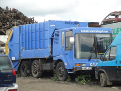 2000 Bedford Marshall Dust Cart (GoldScotland71) Tags: truck bedford garbage 2000 argyll marshall bin lorry rubbish council cart dust bute w982dcs