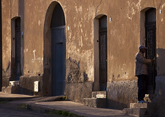 Man Entering His Home, Asmara, Eritrea (Eric Lafforgue) Tags: africa sunset people men horizontal architecture outdoors photography day adult steps fulllength sideview adultsonly oneperson onepeople asmara eritrea hornofafrica realpeople capitalcities colorimage eritreo onlymen onemanonly erytrea eritreia colourimage africanethnicity 1people  stepsandstaircases ertra    eritre eritreja eritria unrecognizableperson  rythre africaorientaleitaliana     eritre eritrja  eritreya  erythraa erytreja     ert5420