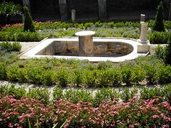 """Fountain in the Peristyle (Plan: f) - The House of the """"Golden Cupids"""" at Pompeii, recently restored (Neronian age) (Carlo Raso) Tags: italy pompeii pompei"""
