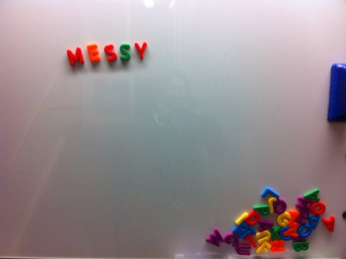 Messy by sandwichgirl, on Flickr