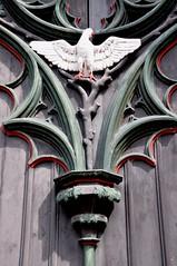 Stralsund, Heilgeistkirche, Portal Deteil (Seeadler 1) Tags: unesco altar marienkirche portal stralsund orgel hansestadt stadtmauer festung neuermarkt kapelle kanzel welterbe stadtbefestigung