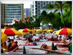 Honolulu Beach (fotomark.net) Tags: color photoshop layers hi
