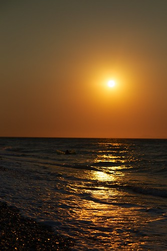 Sunset at Ialysos Beach