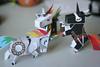 210/365 (Qinn) Tags: robot punk ninja unicorns papercraft