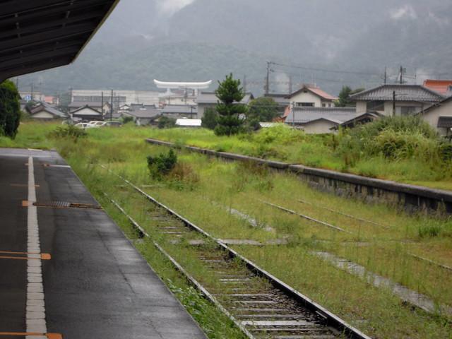 旧大社駅 (プラットフォーム)|旧大社駅