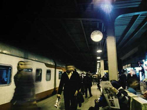 Metro at Night..