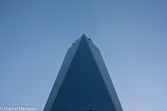 Freedom Tower - NYC (Digital-Designs) Tags: blue sky building glass freedom manhattan district towers 911 twin tall finance