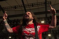 "Sepultura @ Rock Hard Festival 2013 • <a style=""font-size:0.8em;"" href=""http://www.flickr.com/photos/62284930@N02/10156722705/"" target=""_blank"">View on Flickr</a>"