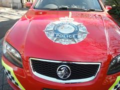 RED CAR (RubyGoes) Tags: red white black car yellow official sydney australia nsw paddington australianfederalpolice