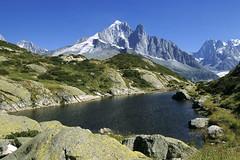 Chamonix-Mont-Blanc, aiguille Vert et Drus (Ytierny) Tags: dru france horizontal altitude lac chamonix montblanc verte alpinisme randonne hautesavoie sommet aiguille et grandesjorasses plandeau hautemontagne valledechamonix massifalpin alpesdunord ytierny