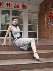 one leg-veivei-10 (ampugirl) Tags: girl es amputee