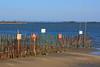 Confini Lagunari (Elisa Medeot) Tags: sea beach canon sand mare border lagoon belvedere laguna spiaggia grado sabbia santuario steccato barbana
