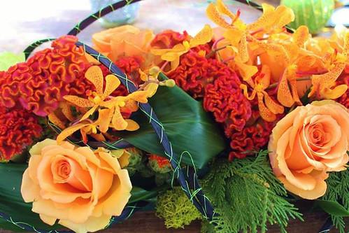Fall Flowers — Photo by Sharon McGukin AAF, AIFD, PFCI
